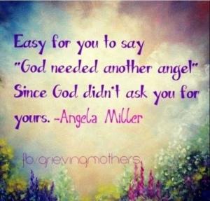 God needed an angel